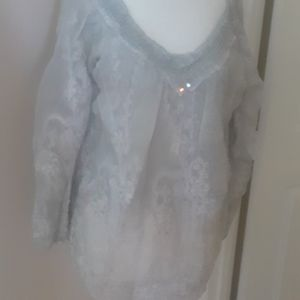 NWT lined blouse